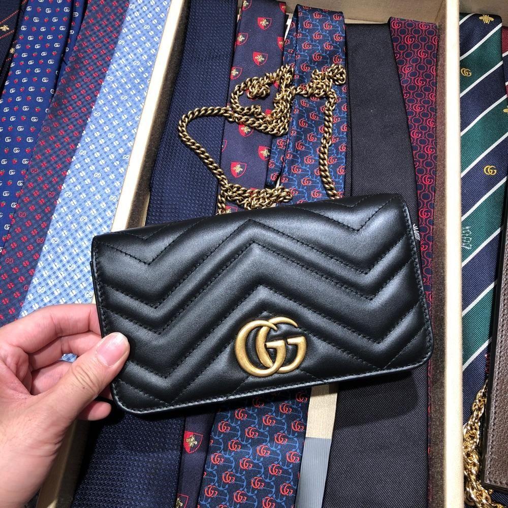 Gucci marmont 链条woc链条包 斜挎包