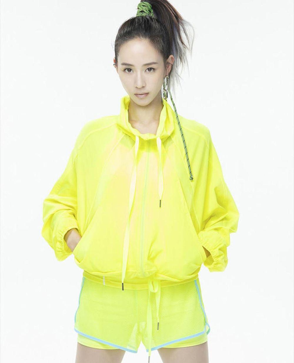明道代言高科防晒衣美肤衣台湾HOII后益 立体感网眼拉链休闲外套