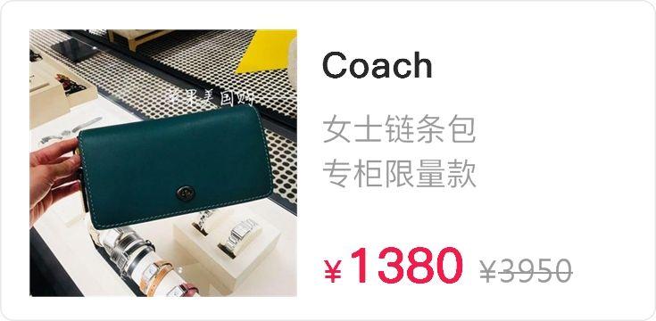 Coach1941 蔻驰女包 专柜限量款Dinky 手袋 金属编织肩带 55149
