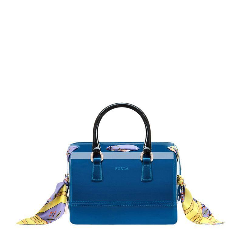 Furla 芙拉 女士蓝色PVC手提包 941336