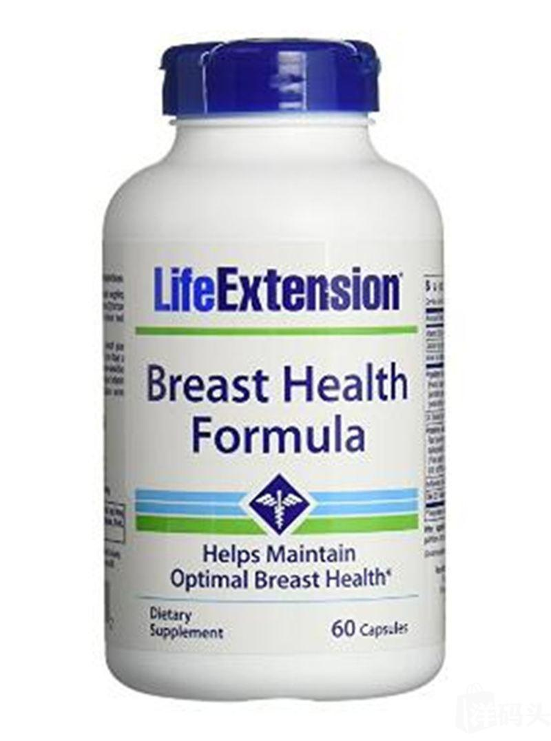 Life Extension Breast DIM 乳腺R房小叶囊性增生 60粒