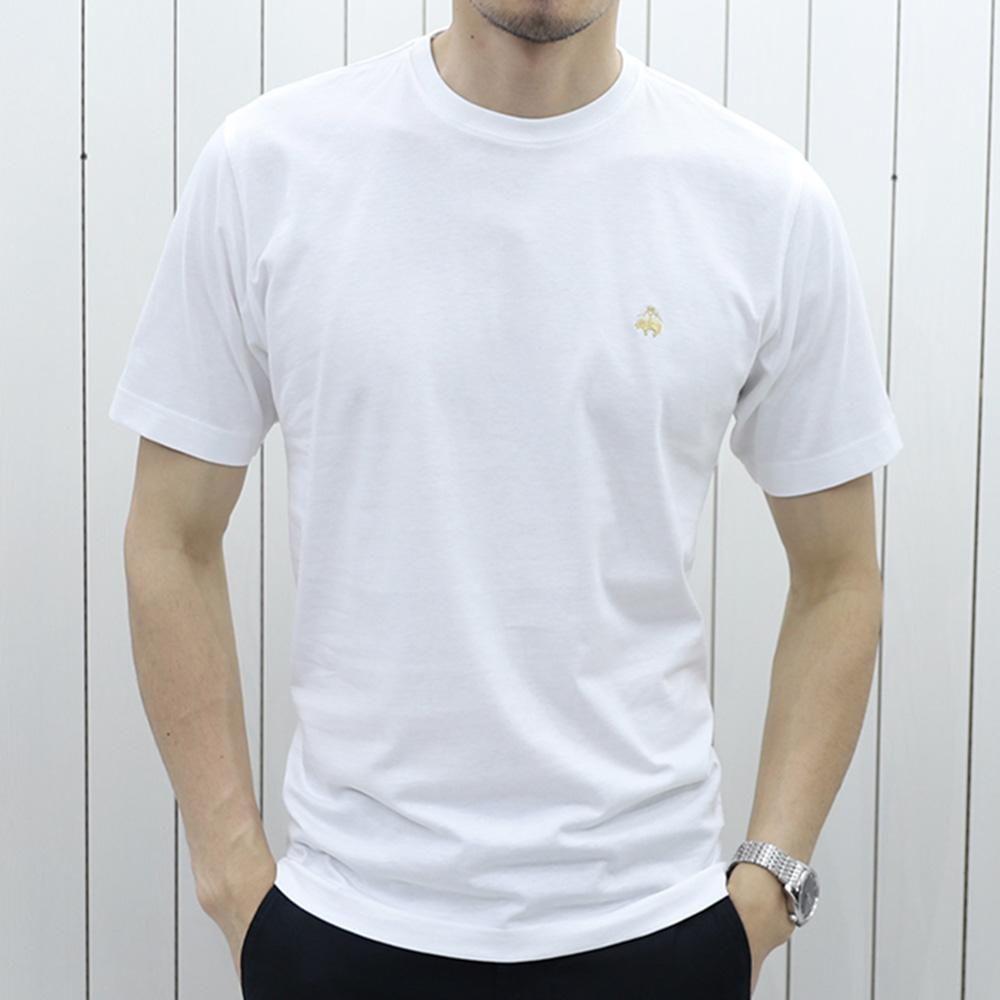现货拼邮 Brooks Brothers 布克兄弟 纯棉圆领男士短袖T恤