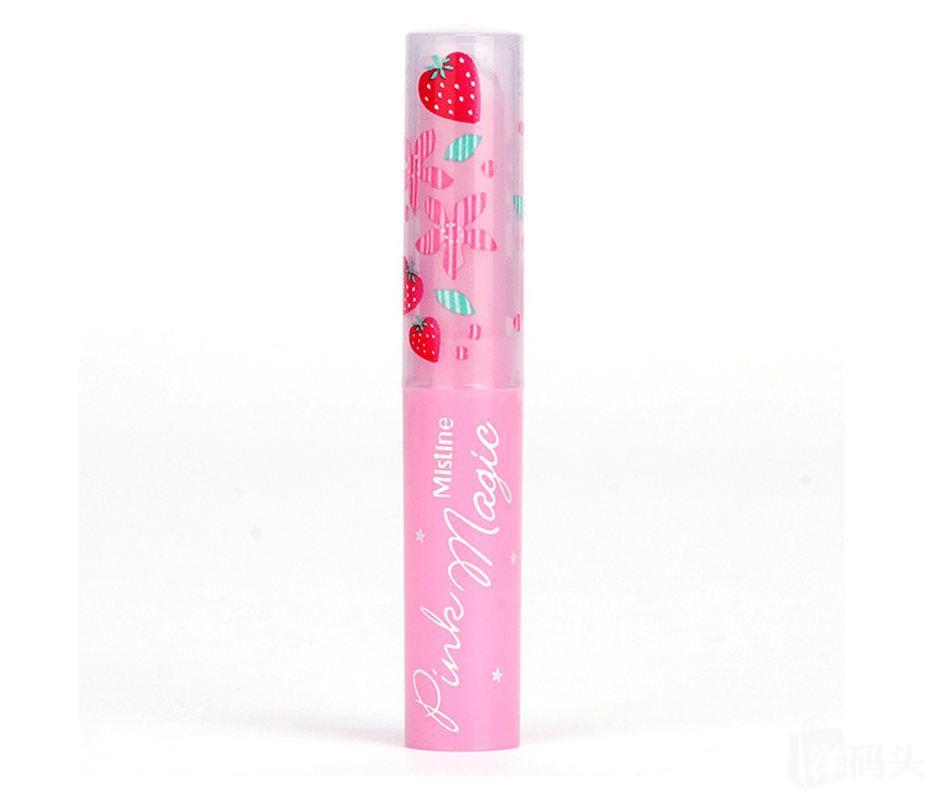 泰国Mistine 草莓变色润唇膏 1.7g