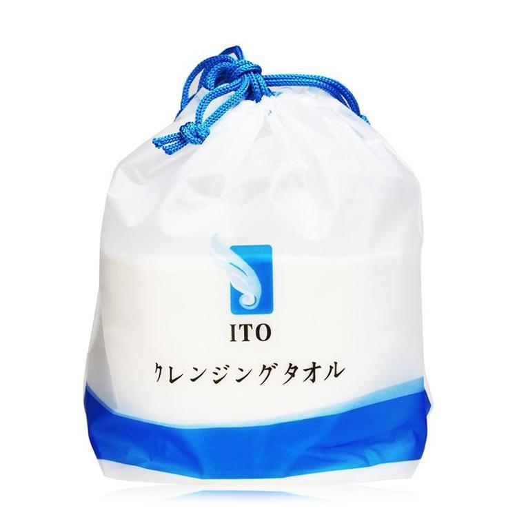 日本ITO洗脸巾一次性洁面巾棉柔巾纯棉亲肤美容/三包组合