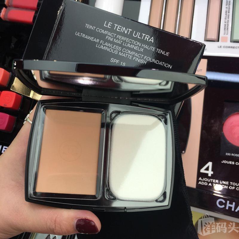 Chanel香奈儿LE TEINT ULTRA TENUE18年新款柔光持妆粉饼