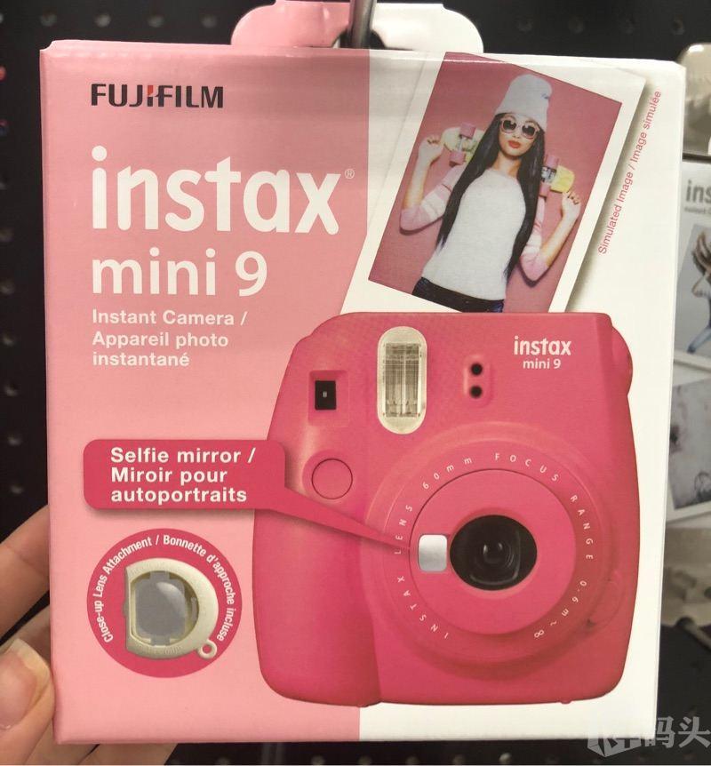美国直邮Fujifilm富士拍立得相机迷你9 instax mini9一次成像