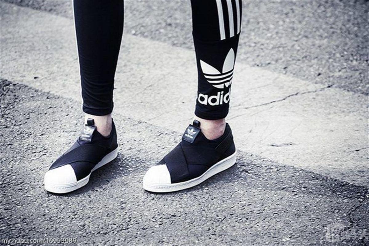 adidas originals 三叶草 superstar 贝壳头板鞋 特价图片