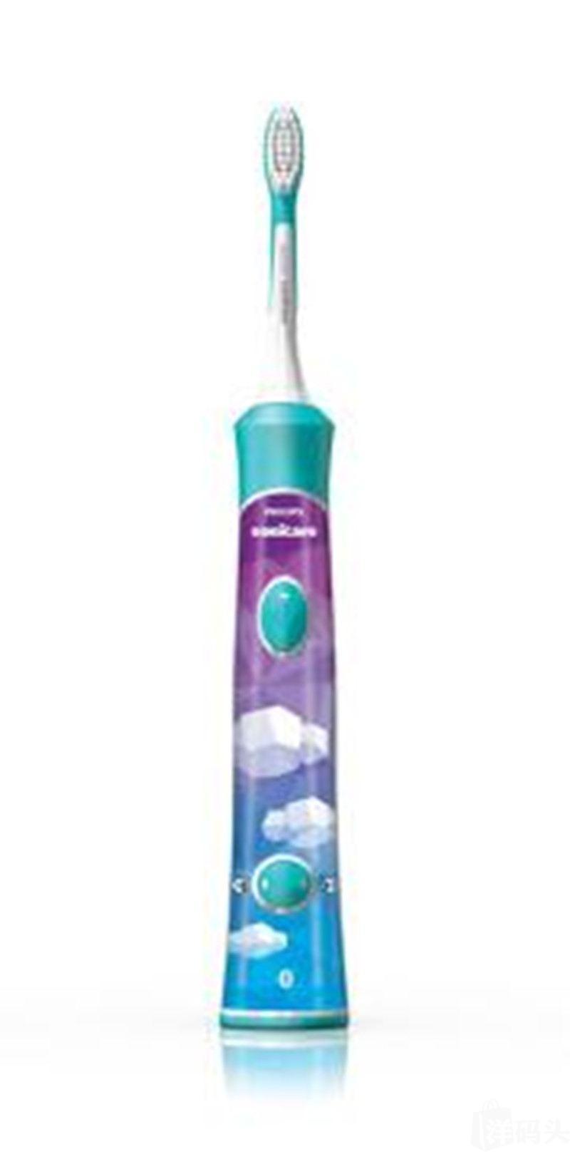 飞利浦Philips儿童牙刷HX6321 电动声波蓝牙互动 定时音乐