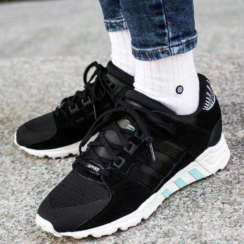Adidas 三叶草 EQT Support 女士运动潮鞋 新款 运动鞋
