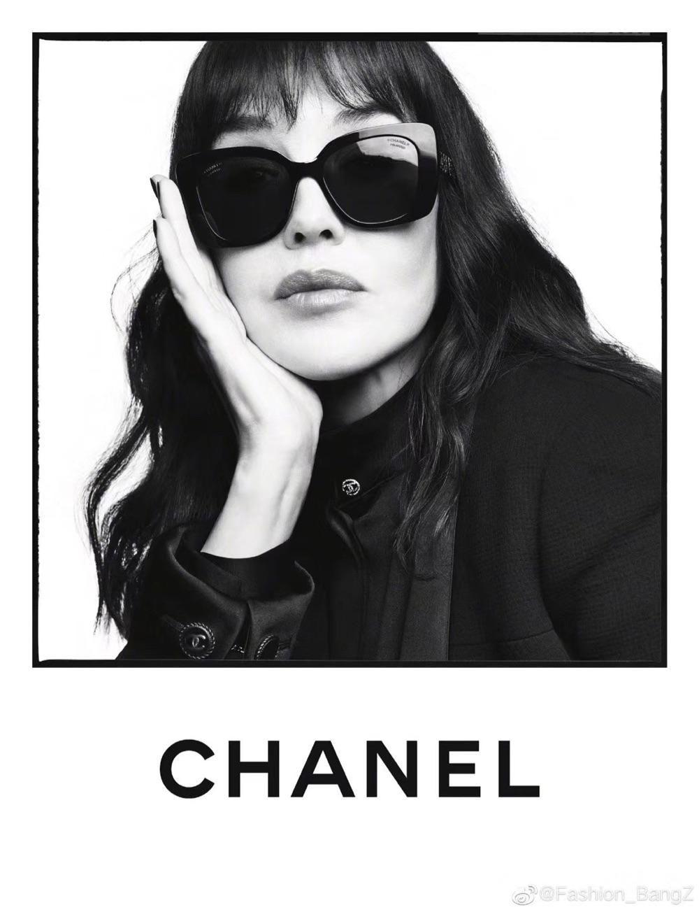 Chanel香奈儿2020爆款海报款水晶镂空腿明星同款墨镜 多色