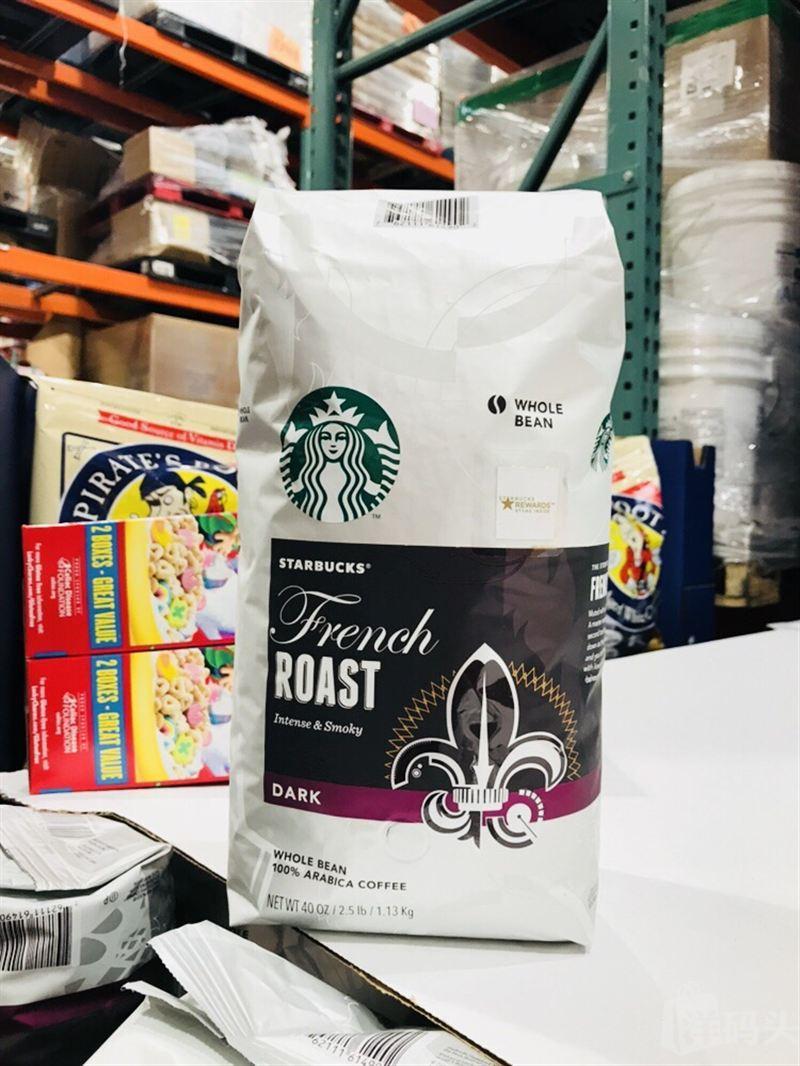 星巴克咖啡在美国_美国直邮 STARBUCKS法式星巴克咖啡豆1130g 非速溶_美国-洋码头