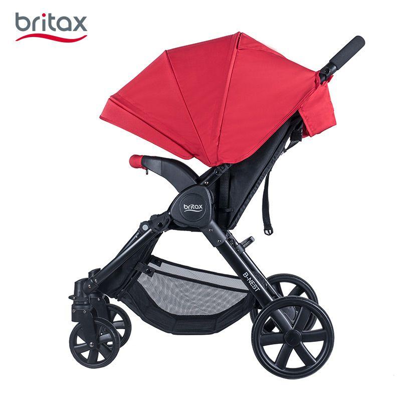 Britax宝得适B-Nest欢行婴儿宝宝折叠推车坐躺便携0-4岁