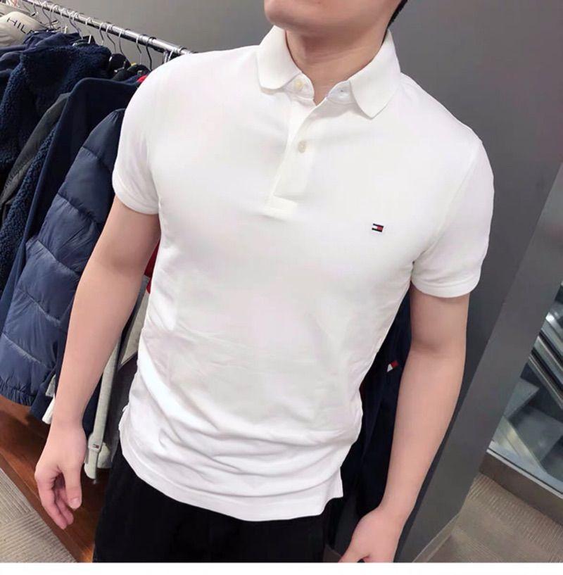 Tommy Hilfiger汤米男士新款Slim polo衫 修身款 短袖T恤