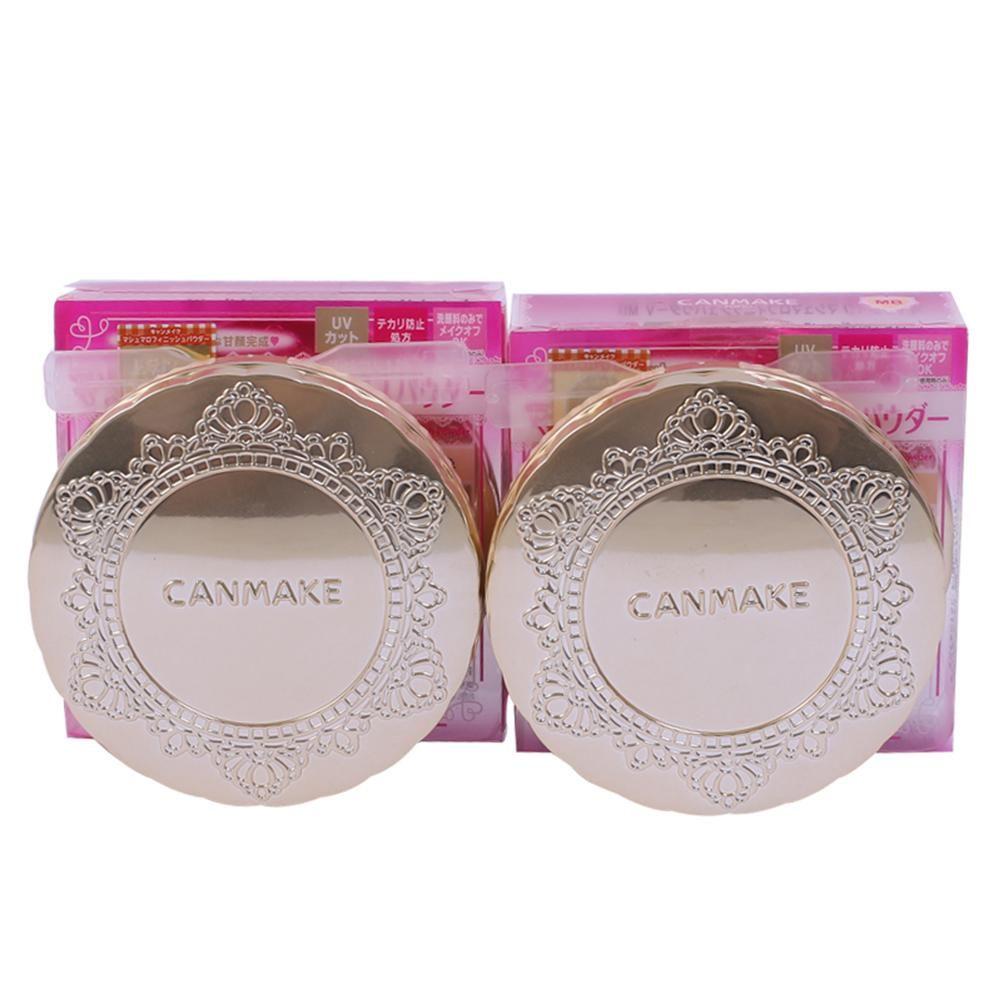 日本Canmake 井田棉花糖粉饼 持久控油定妆遮瑕 遮痘印斑点蜜粉饼
