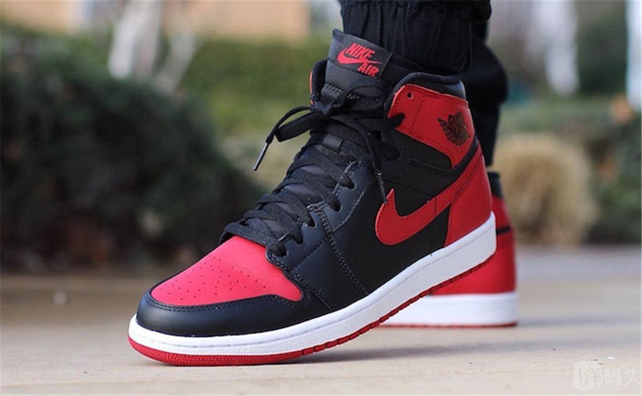 Nike Air Jordan 1 OG Banned AJ1 Bred耐克乔丹 黑红 禁穿篮球鞋