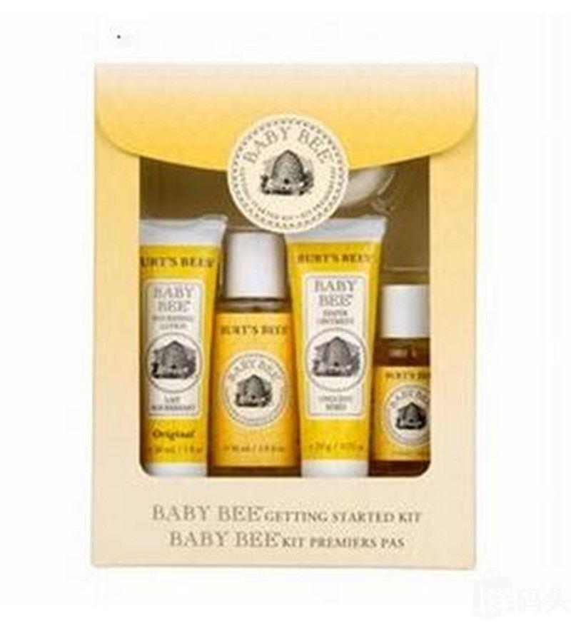 Burts Bees 小蜜蜂婴儿洗护套装 5件套