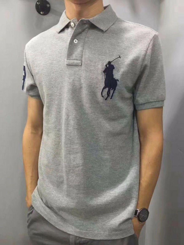 Polo Ralph Lauren拉夫劳伦男士大马标数字刺绣翻领短袖POLO衫