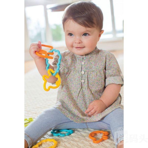 infantino go gaga动物游行剪影链接 婴儿宝宝玩具 24片