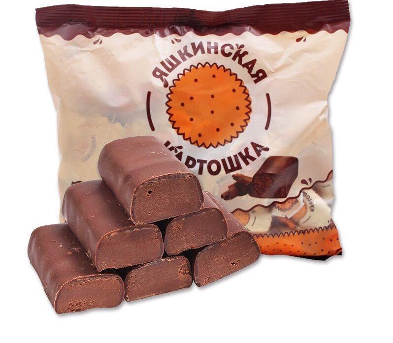 【松露土豆泥】俄罗斯夹心巧克力软糖500克