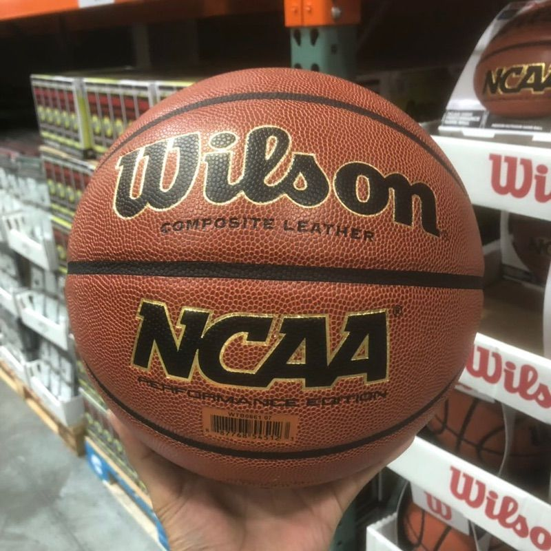 美国直邮 Wilson威尔胜NCAA比赛用篮球耐磨室外篮球 29.5寸/7号