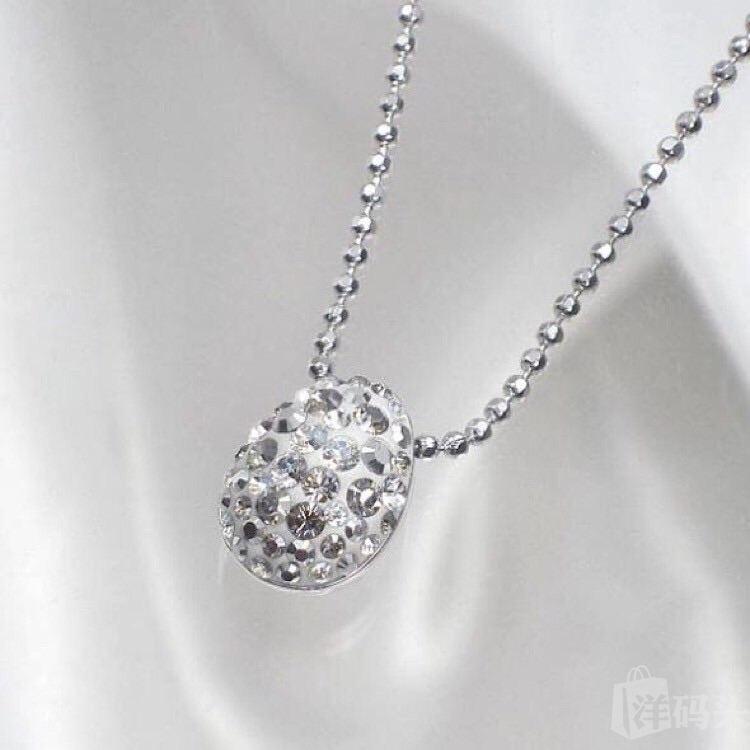 施华洛世奇 Swarovski 镶钻水晶项链