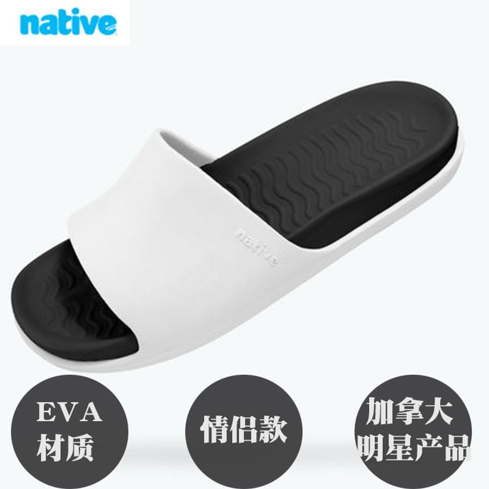 NATVIE2019新款凉鞋沙滩鞋悠闲拖鞋橡胶材质