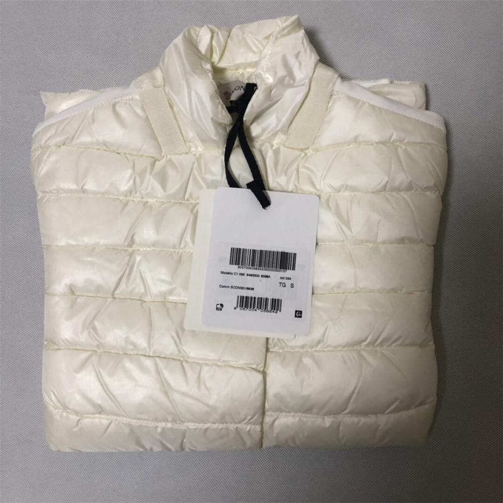moncler/蒙口女士冬季款立领羽绒拼接短外套时尚保暖