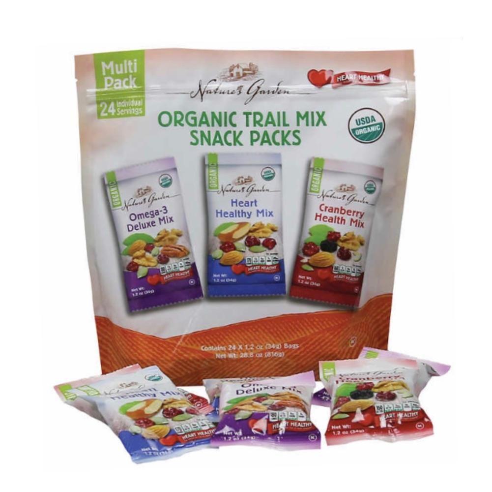 Nature's Garden 天然花园天然有机健康坚果混合零食包24/包