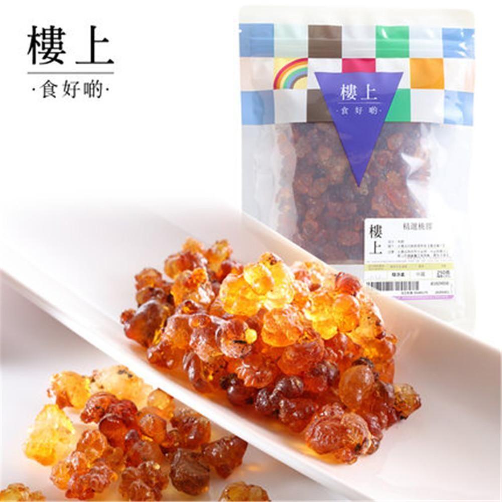 香港进口 楼上牌精选桃胶250g 广式糖水烘焙原料