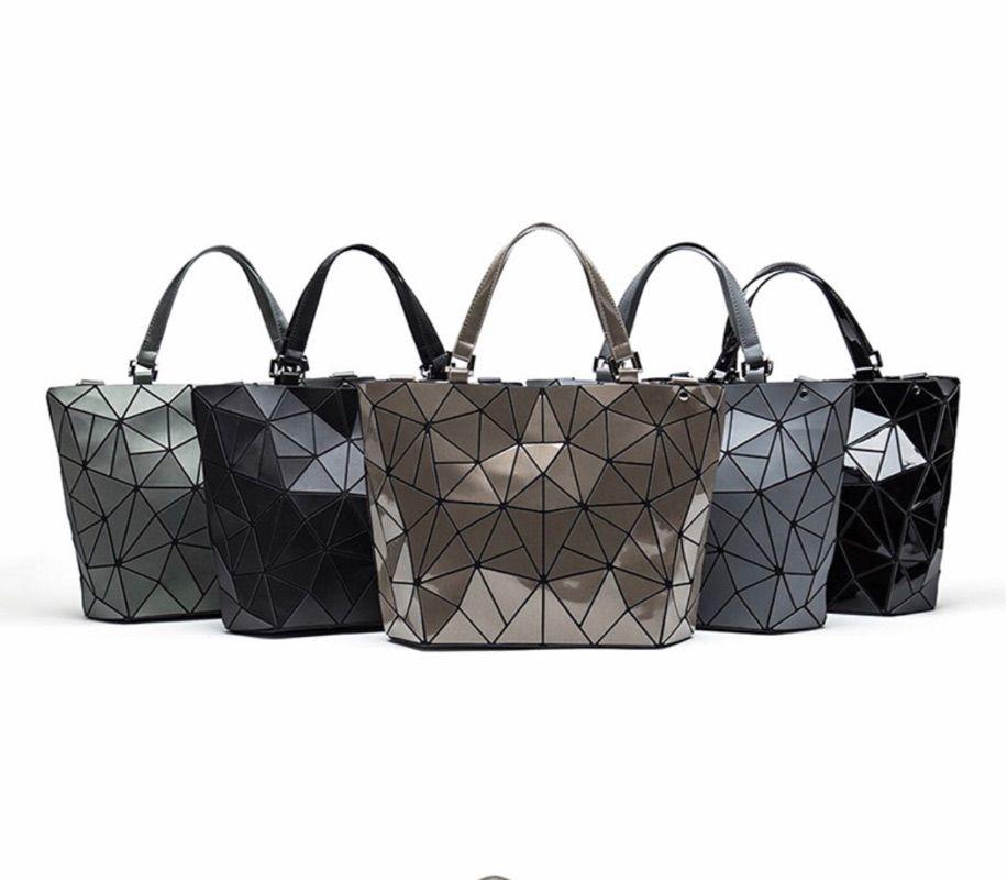 andstyle女士新款几何菱格单肩包 手提包水桶包 斜挎包