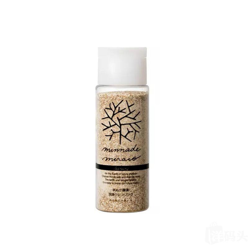 minnade miraio臭臭粉米糠酵素卸妆洗颜粉软化角质 净化毛孔85g