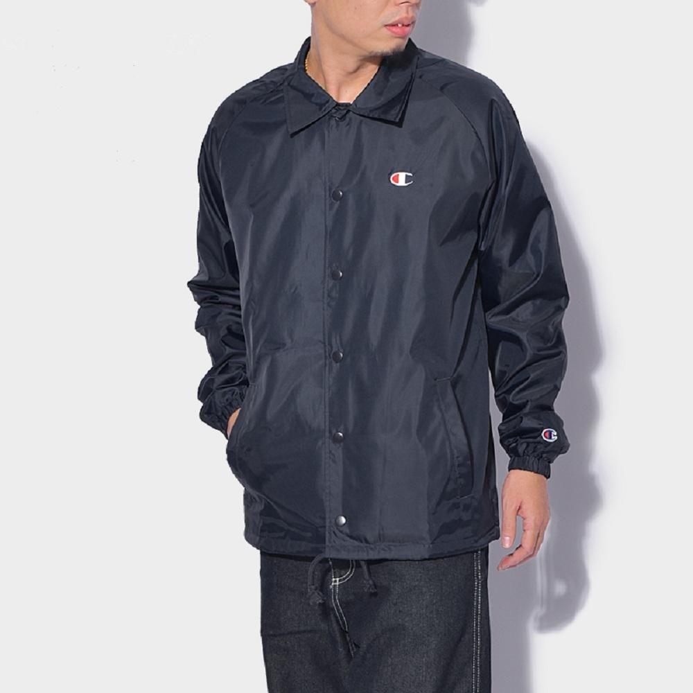 Champion 男工装外套双标按扣夹克V0100