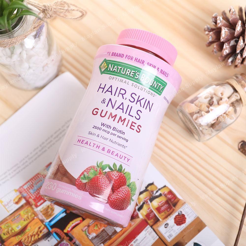美国直邮 Nature's Bounty 自然之宝 胶原蛋白软糖 草莓味 230粒