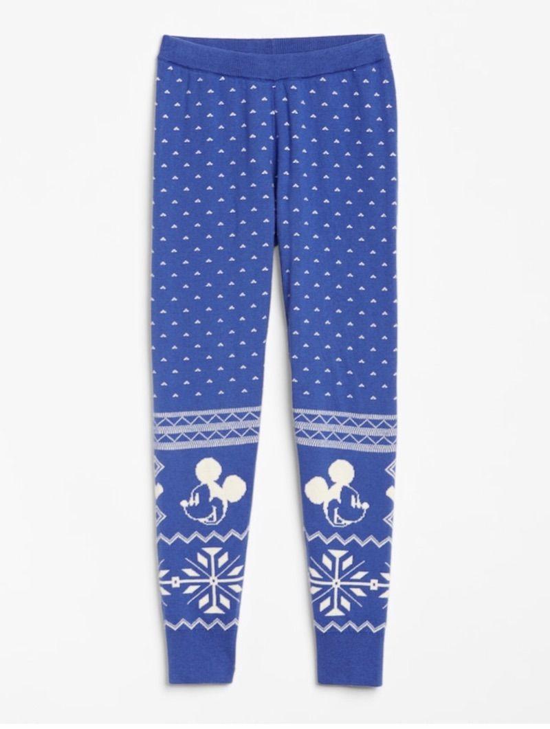GAP 迪士尼 女童毛裤 4-5岁/110cm 裤长63厘米