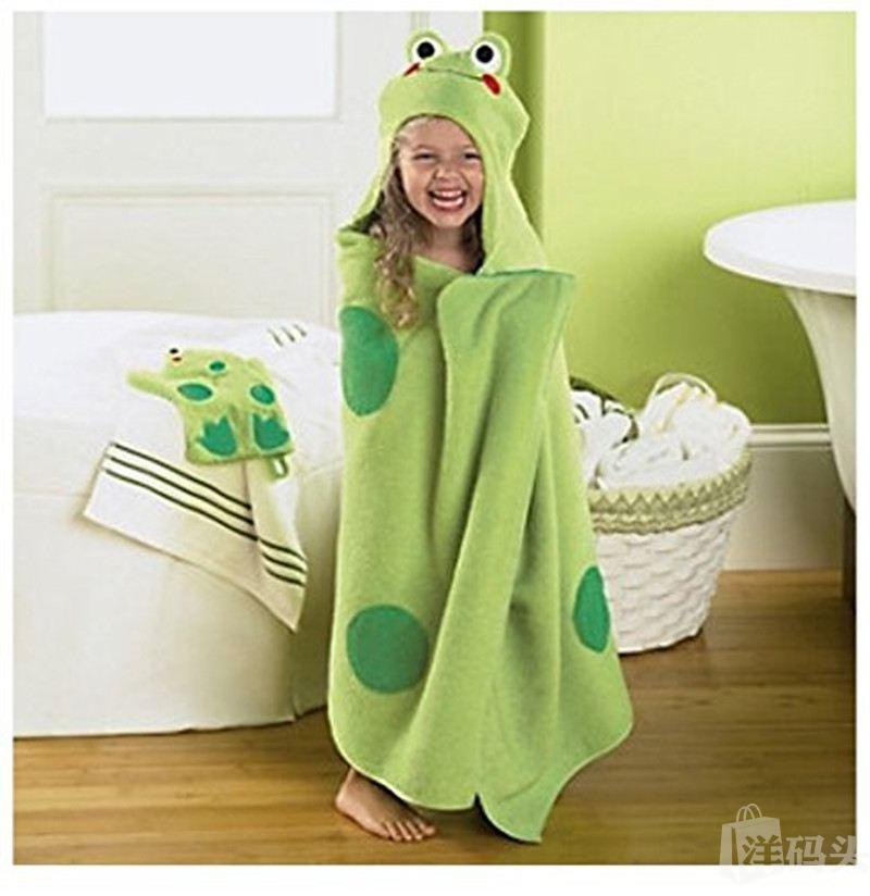 Jumping Beans儿童卡通纯棉浴巾 浴袍 带帽 多款