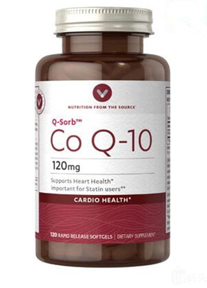 Vitamin world辅酶CO-Q10 120mg120粒保护心脏