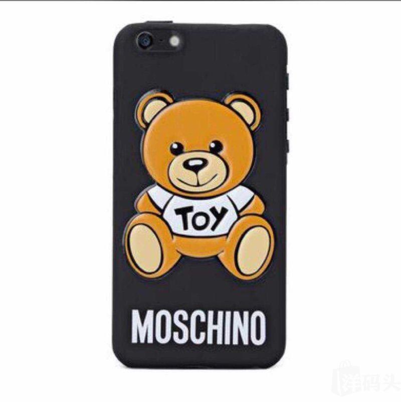 苹果,配件 iphone配件 moschino小熊手机壳 现货