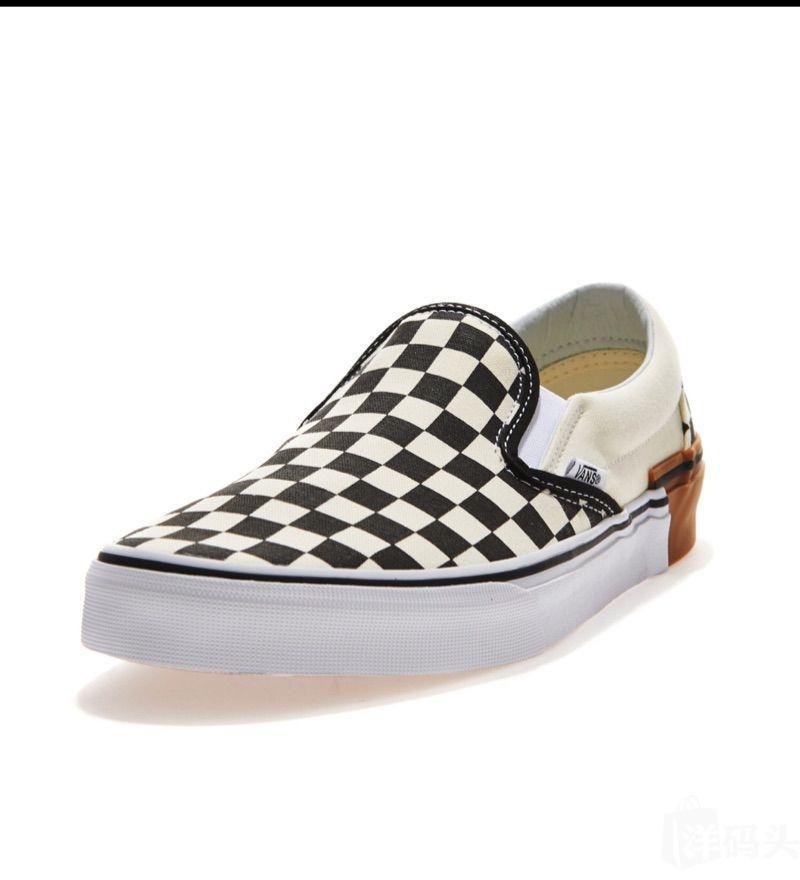 韩国正品 Vans男女同款休闲鞋 棋盘格系列防滑运动鞋 滑板鞋 单鞋