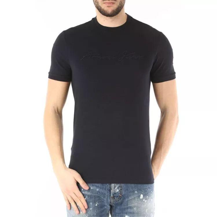 Armani Jeans  阿玛尼春夏款男士 短袖 T恤3Y6T14 6J0AZ