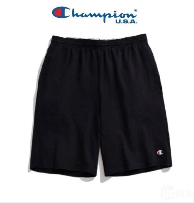 正品 Champion美国潮牌经典刺绣logo男士夏季运动休闲裤纯棉短裤
