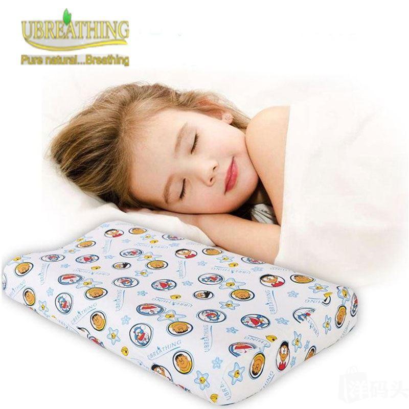 泰国优必思儿童枕头 配可拆洗纯棉卡通枕套