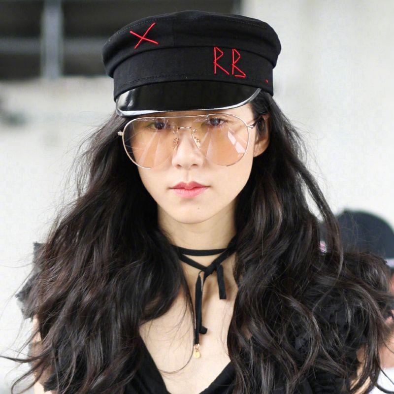 【VIP8折】RUSLAN BAGINSKIY 韩雪王鸥同款 刺绣细节报童帽 #Z