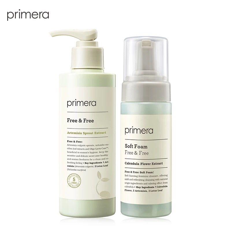 PRIMERA芙莉美娜女性私密处护理液 植物泡沫洗液