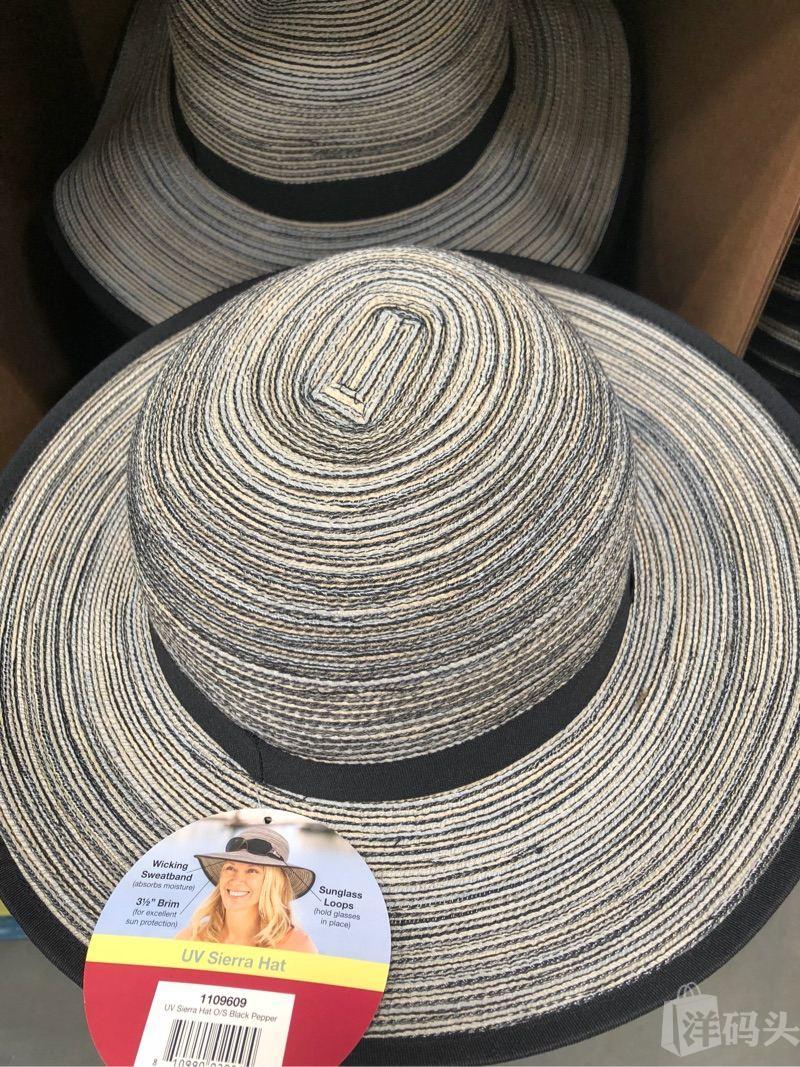 ea1657465b7 美国直邮Solar Escape女士防紫外线防晒帽子遮阳沙滩帽宽边UPF50 美国-洋码头