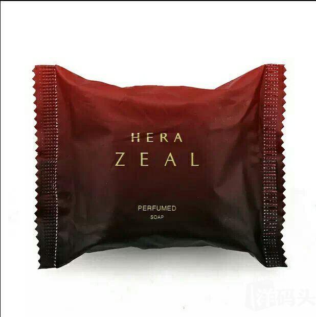 上新韩国进口hera赫拉皂zeal香水皂 玫瑰植物美容皂 香皂60g*2块