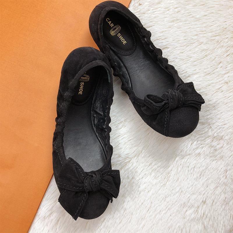 car shoe 女鞋 Prada 旗下CAR SHOE舒适瓢鞋KDF609D 英国现货