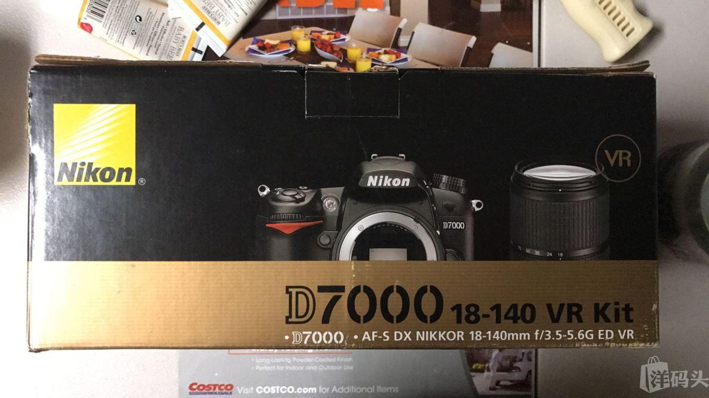 Nikon/尼康D7000单反相机套机含18-140mmVR镜头捡漏