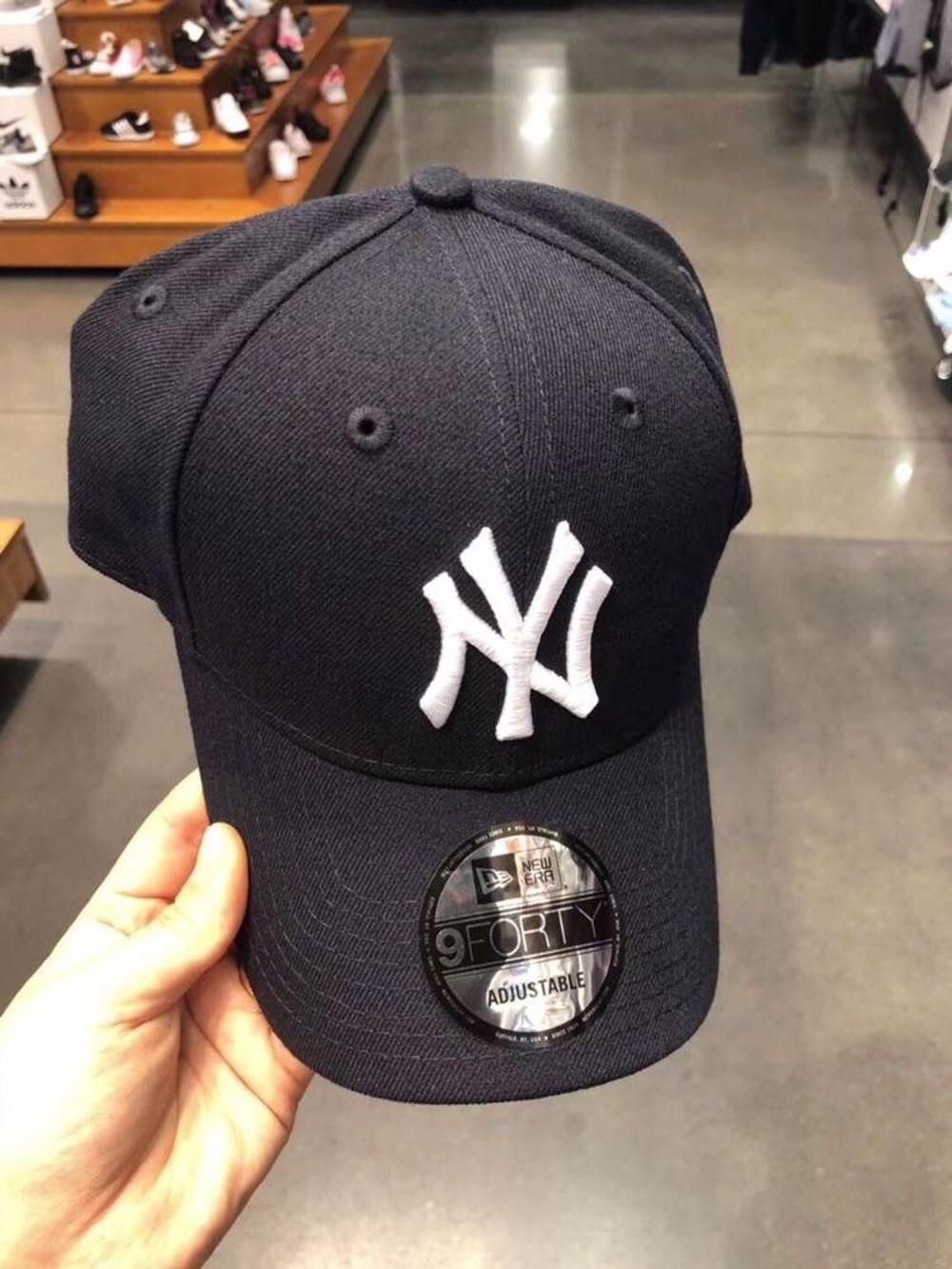 Yankees洋基男女同款 时尚弯檐帽休闲棒球帽多色可选