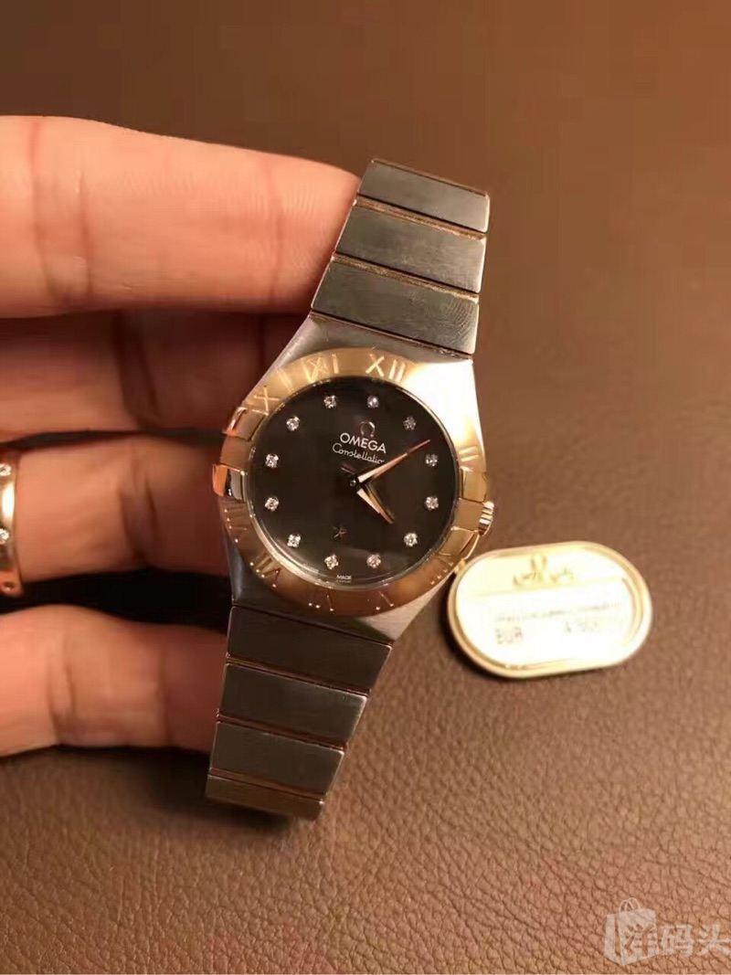 欧米茄手表广告素材