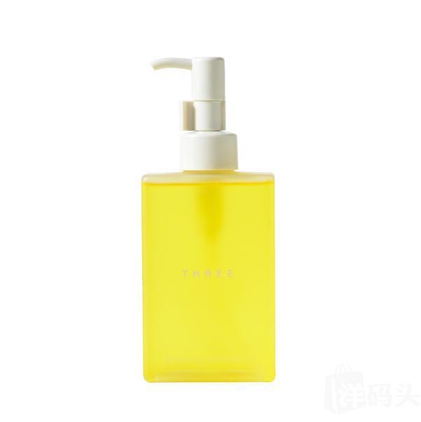 日本制THREE平衡洁肤卸妆油天然卸妆水温和洁净 200ml